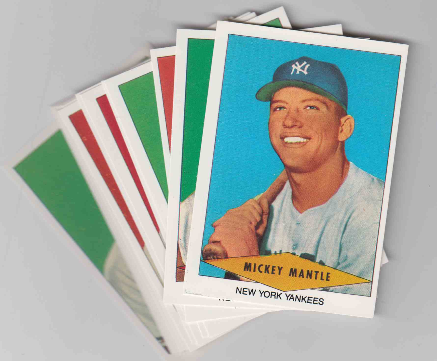 1989 1954 Red Heart Reprints 33 Cards Set card front image