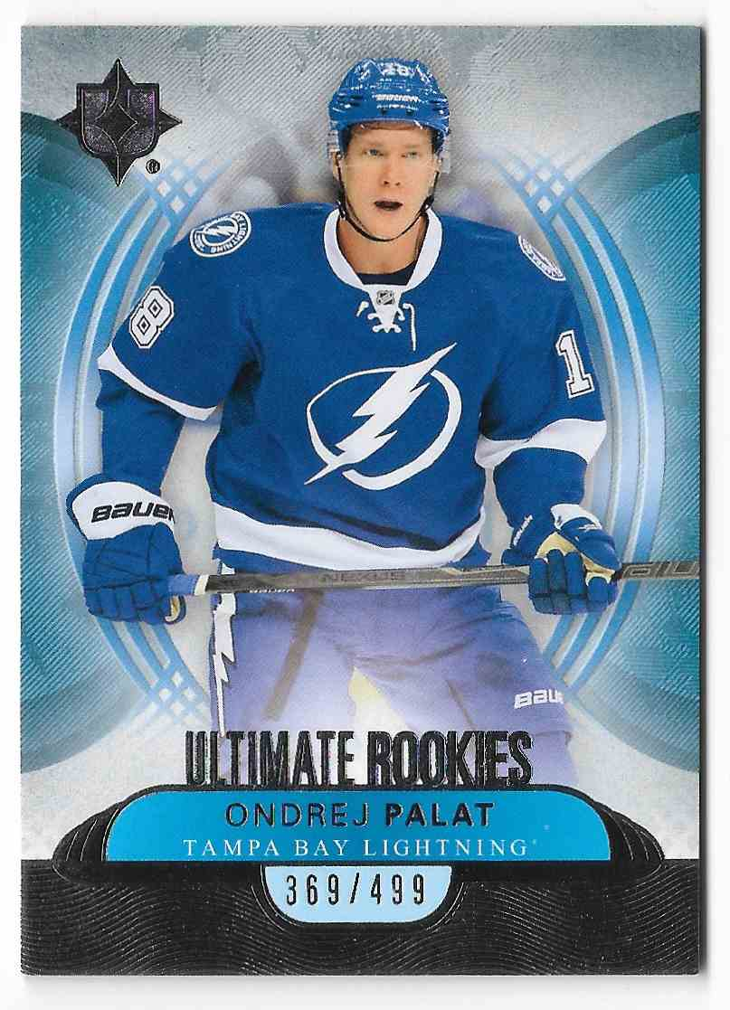 2013-14 Upper Deck Ultimate Ondrej Palat #118 card front image