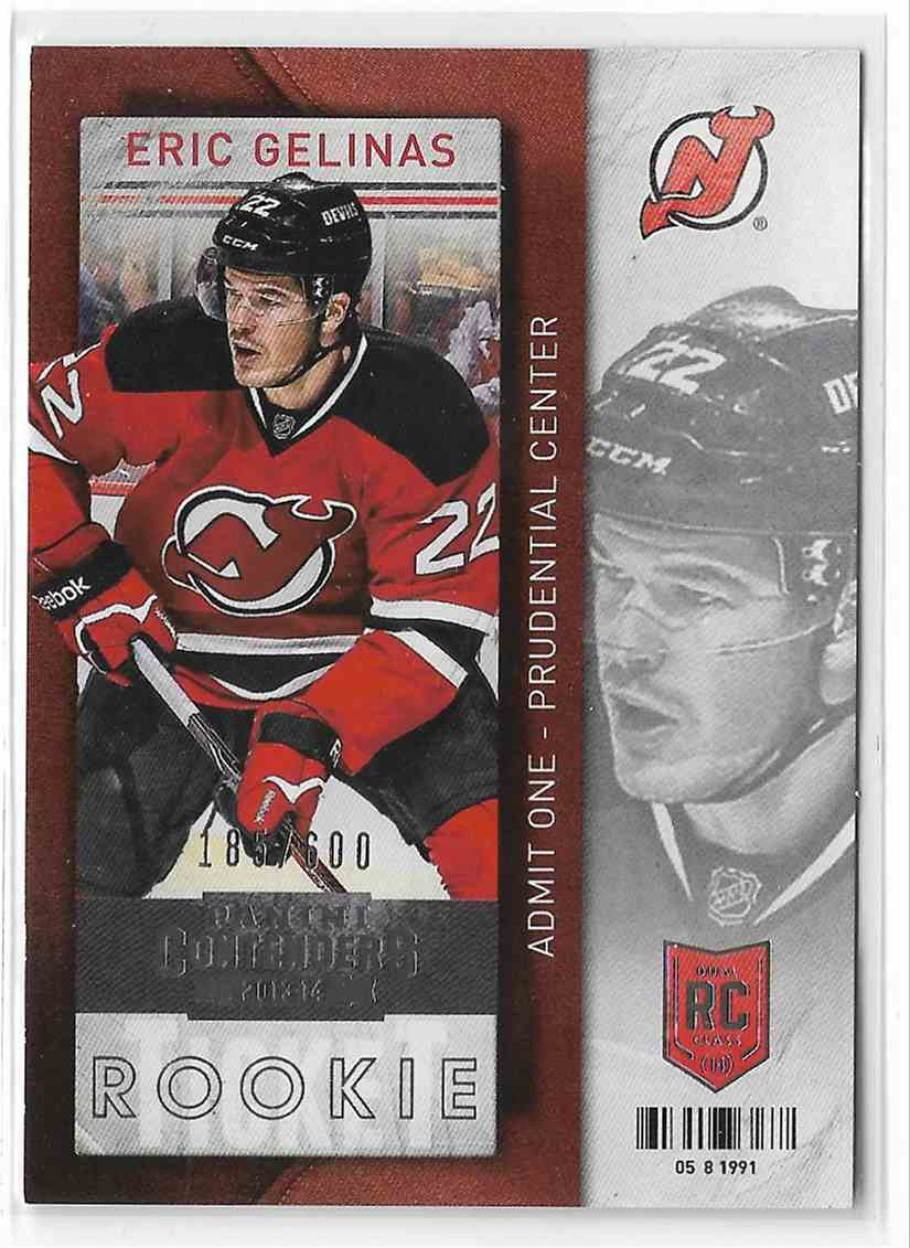 2013-14 Panini Contenders Eric Gelinas #120 card front image