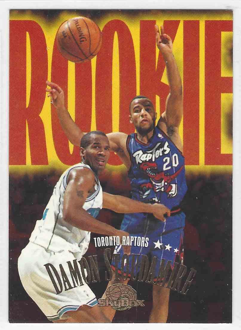 8db2511487a 1995-96 Skybox Premium Damon Stoudamire #244 card front image