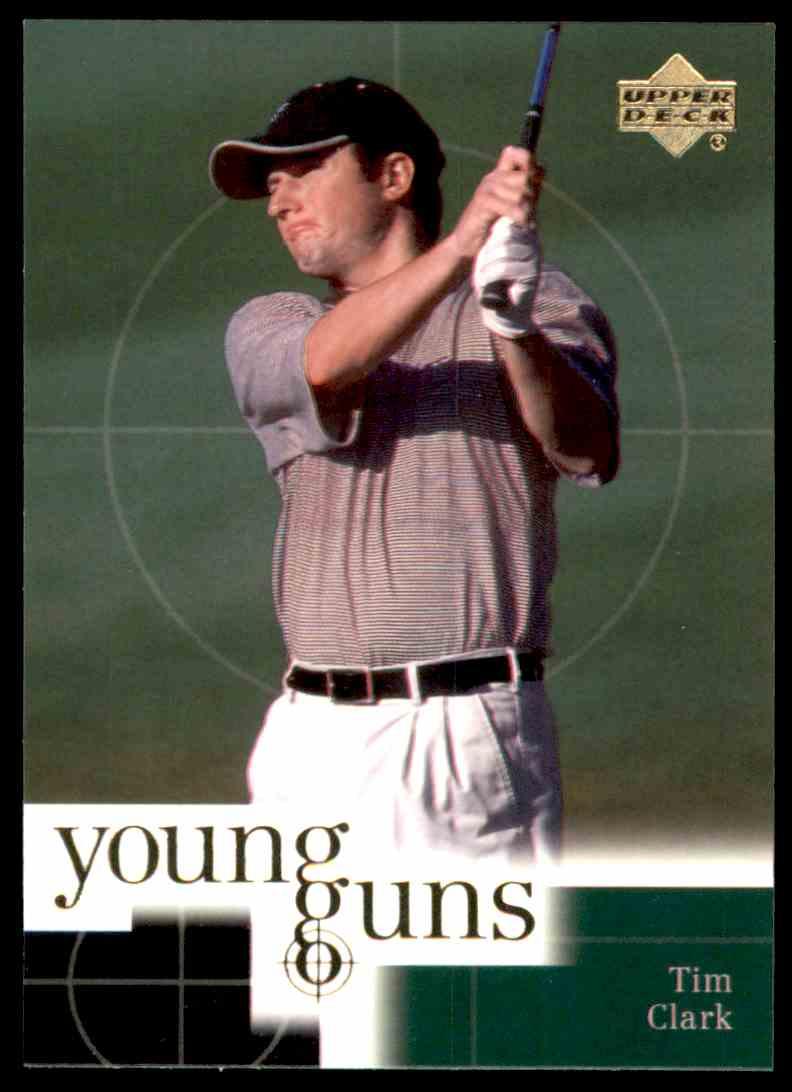 2001 Upper Deck Tim Clark Yg RC #79 card front image