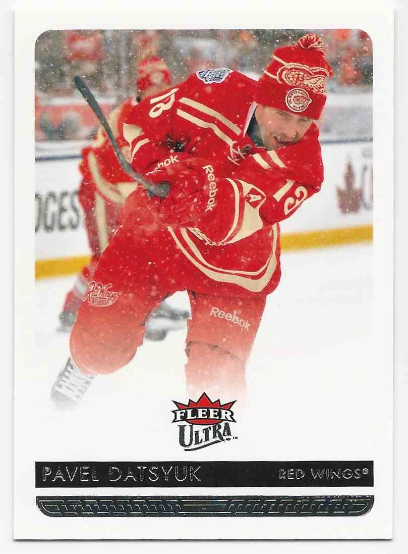 2014-15 Ultra Pavel Datsyuk #67B card front image