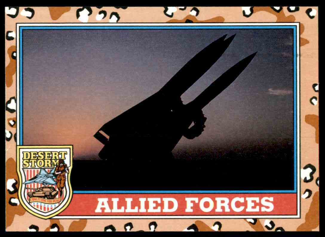 1991 Desert Storm Topps Allied Forces #146 card front image