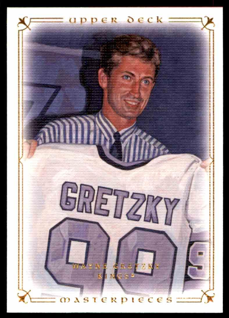 2008-09 Upper Deck Masterpieces Wayne Gretzky #20 card front image