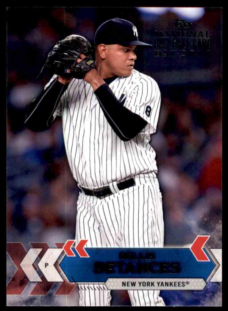 2017 Topps National Baseball Card Day Dellin Betances