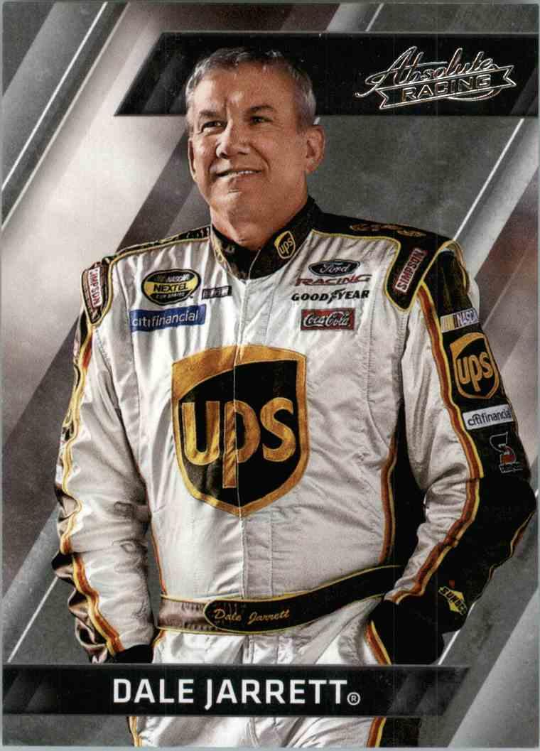 2017 Panini Absolute Racing Dale Jarrett #1 card front image