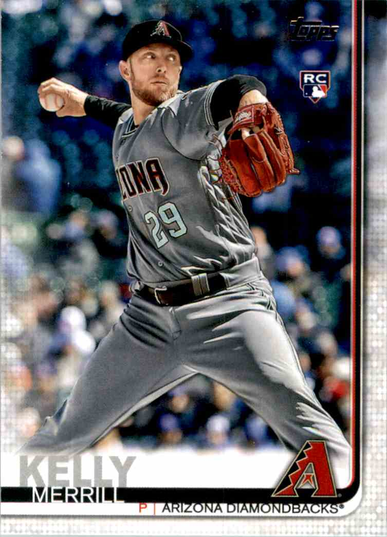 2019 Topps Update Merrill Kelly RC #US240 card front image
