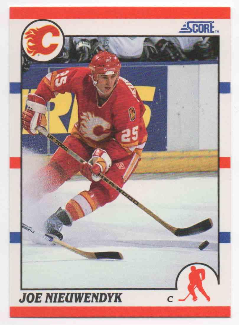 1990-91 Score Joe Nieuwendyk #30 card front image