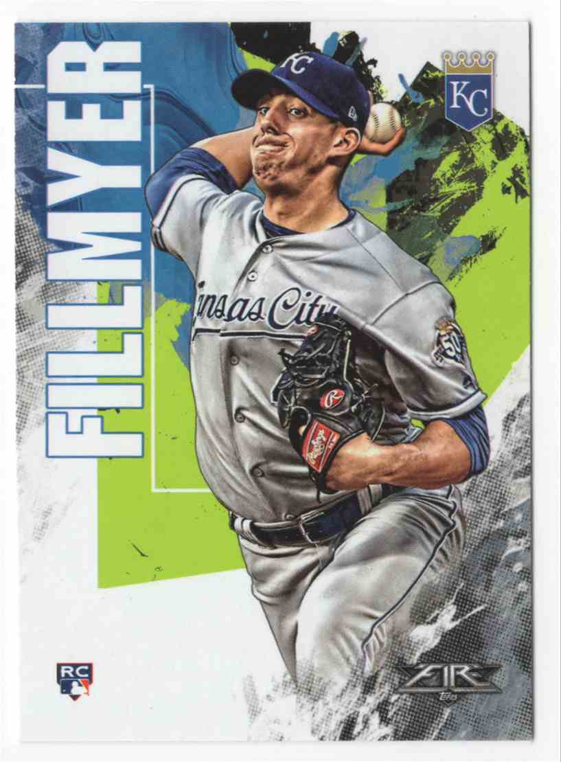 2019 Topps Fire Heath Fillmyer #3 card front image