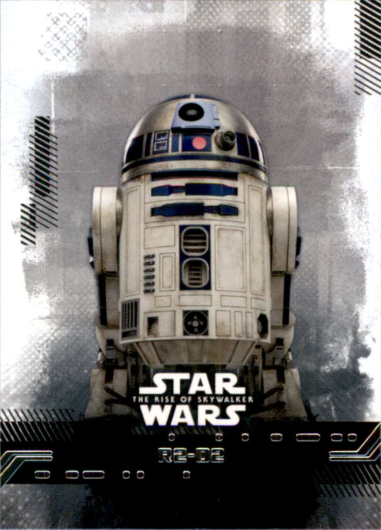 2019 Star Wars The Rise Of Skywalker Series One R2-D2 #22 card front image