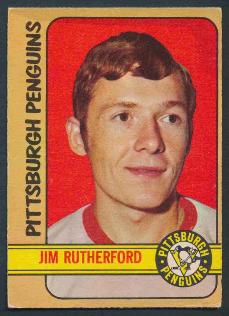 1972-73 O-Pee-Chee Jim Rutherford #15 card front image