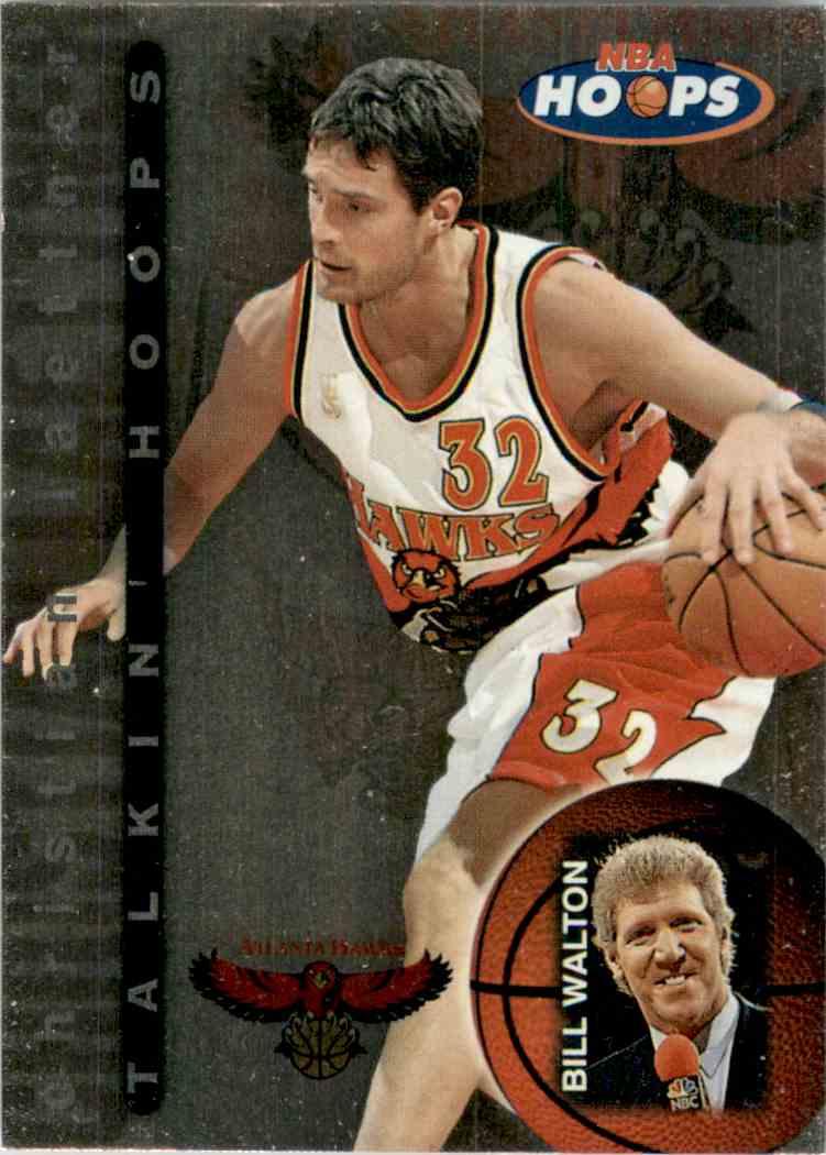 1997-98 Hoops Talkin' Hoops Christian Laettner #1 card front image