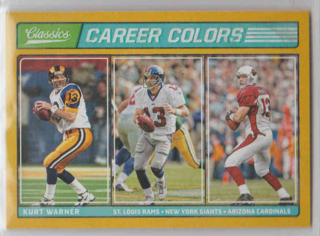 a look into the career of kurt warner of the stlouis rams For kurt warner, former quarterback for the st kurt became the third -tring quarterback for the st louis rams throughout his 12-year nfl career.