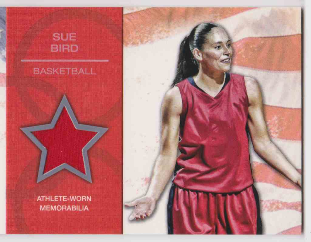 2012 Topps U.S. Olympic Team Relic Sue Bird #OR-SB card front image