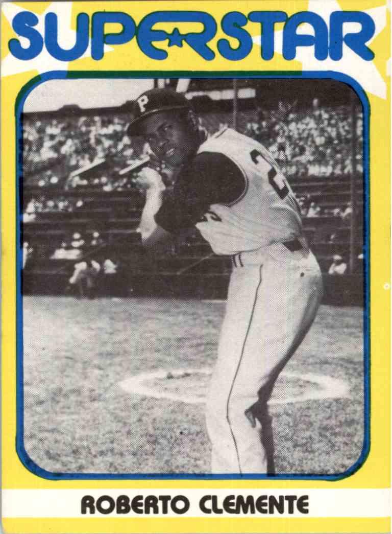 1980 Seckeli Superstar - Roberto Clemente - #2 card front image