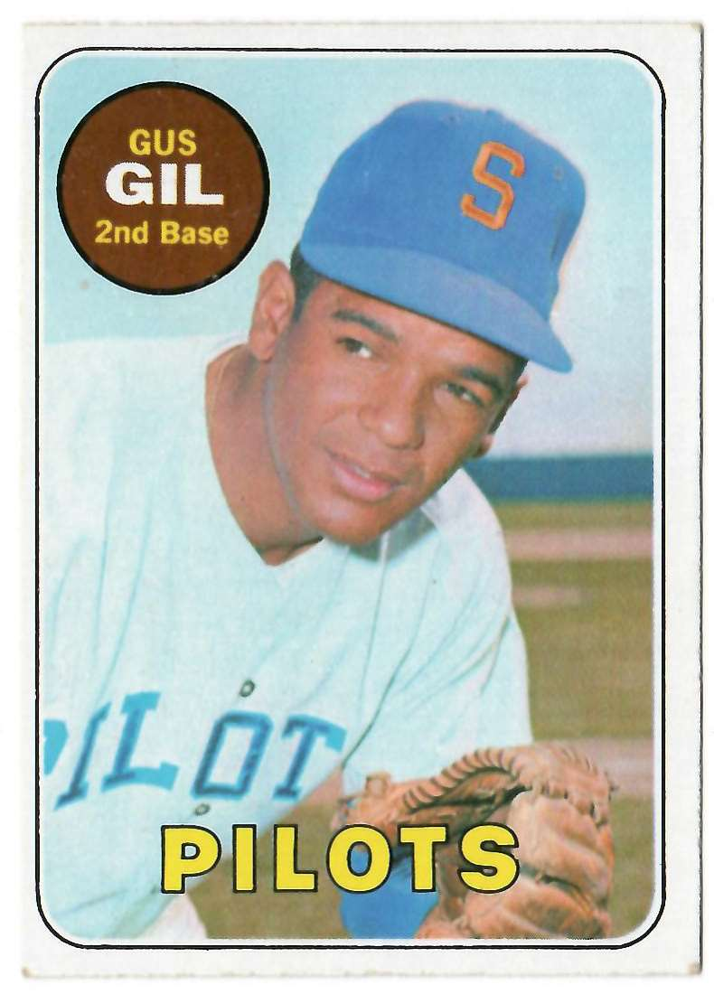 1969 Topps Gus Gil #651 card front image