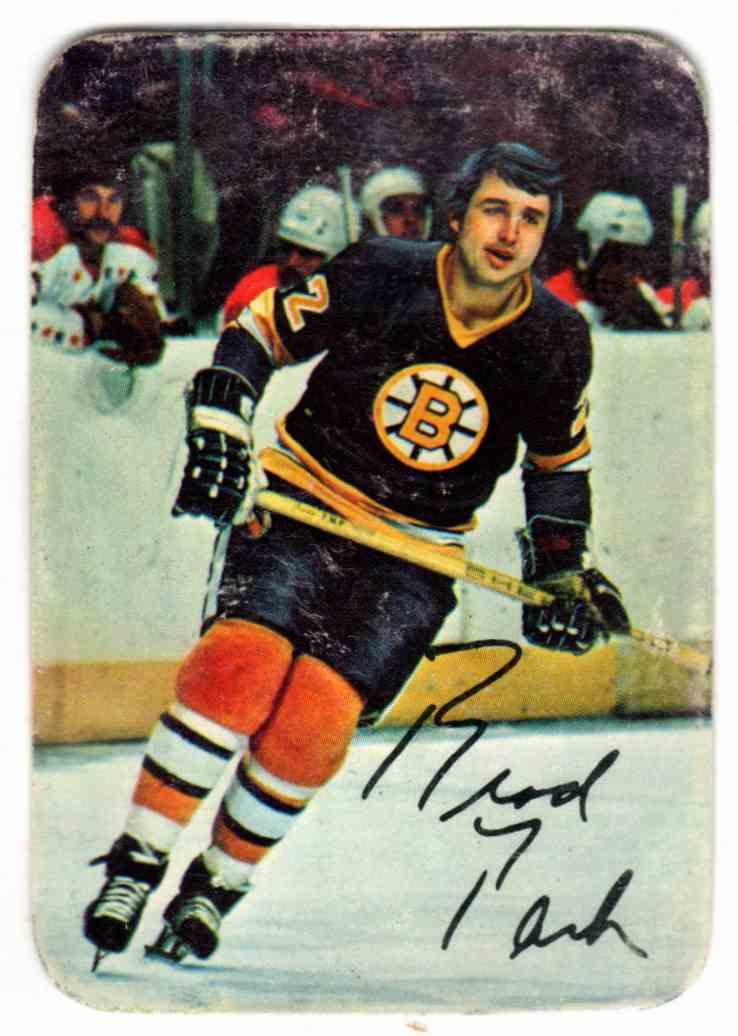 the best attitude 6d2e7 e9ac8 1977-78 Boston Bruins Boston Bruins Brad Park - Defense ...