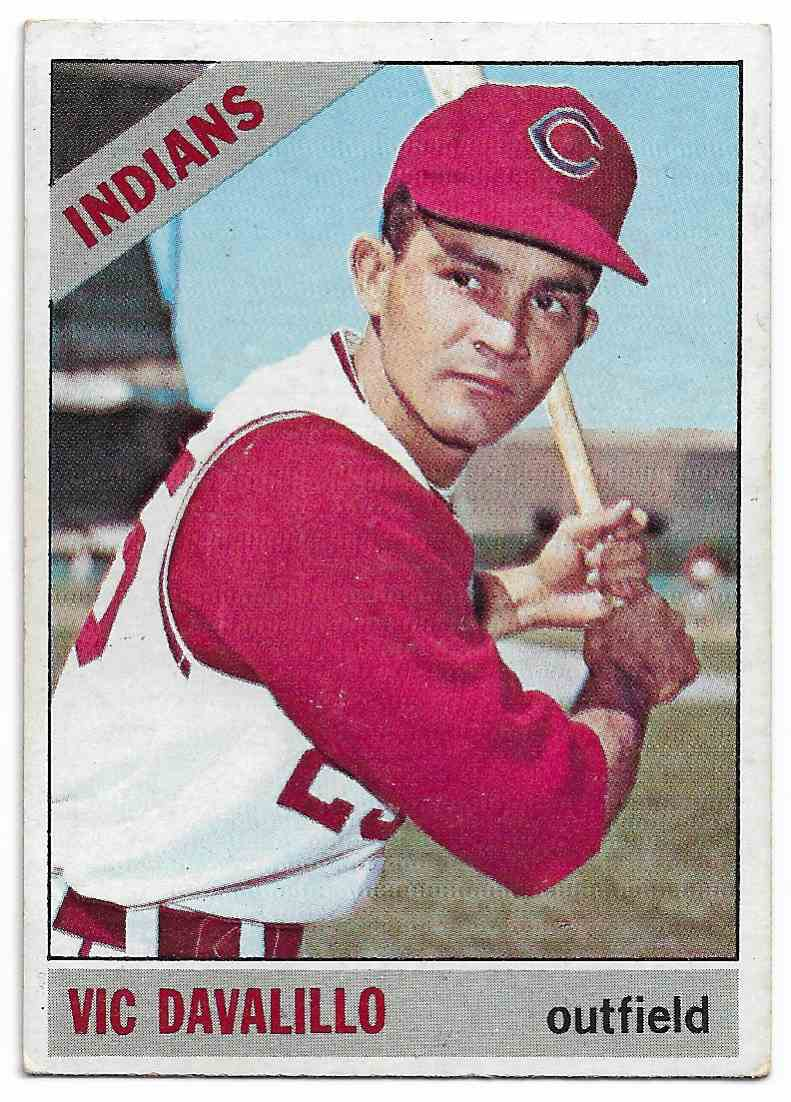 1966 Topps VIC Davalillo #325 card front image