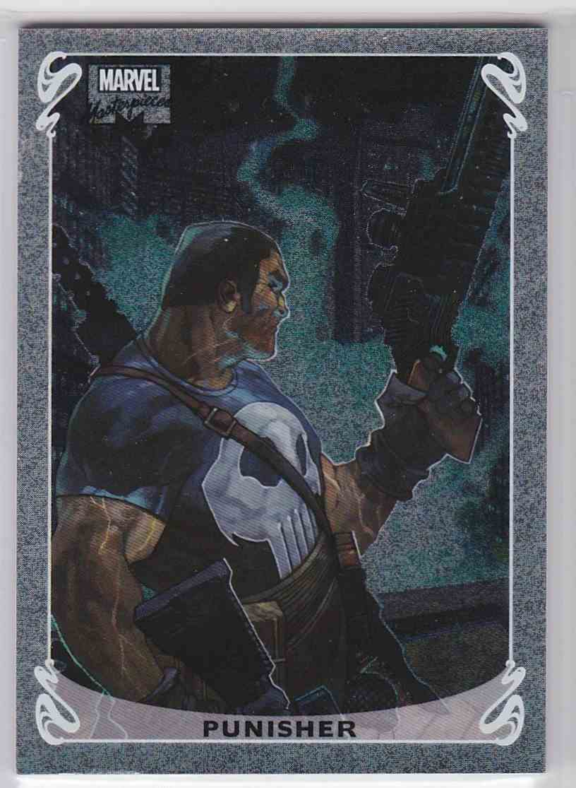 2018 Marvel Masterpieces Holofoil Punisher card front image