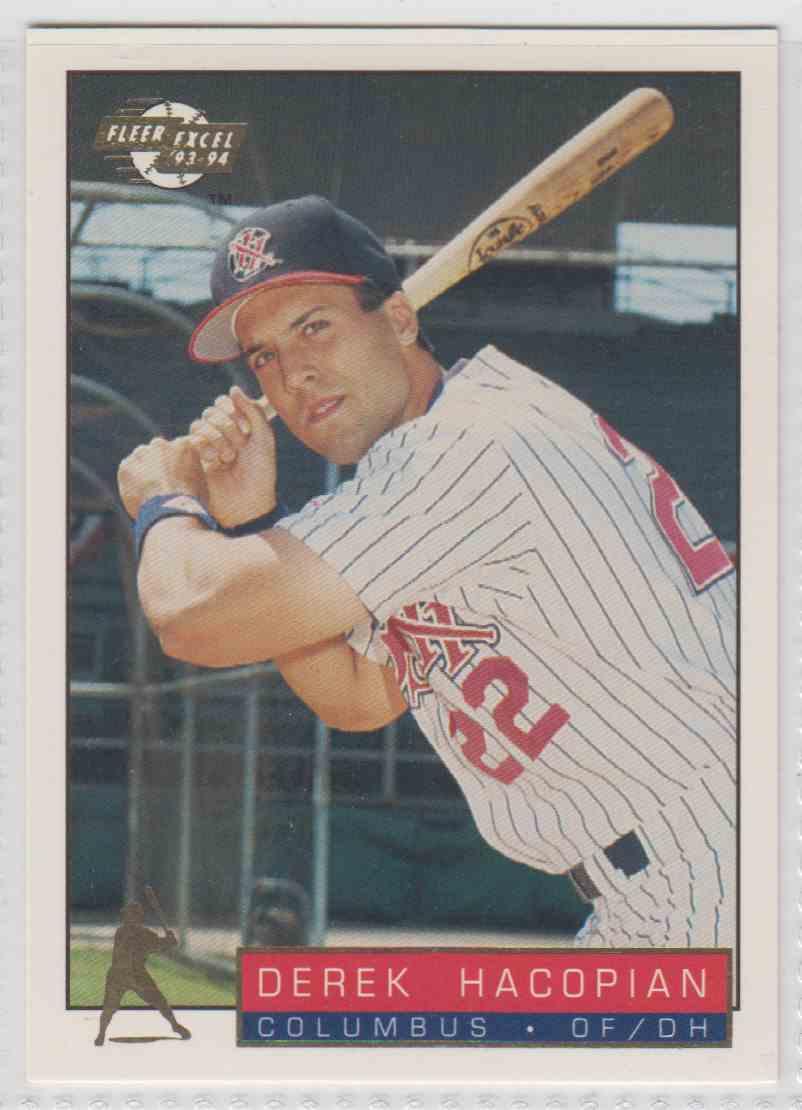 1993 1993 94 Fleer Excel Derek Hacopian 44 On Kronozio