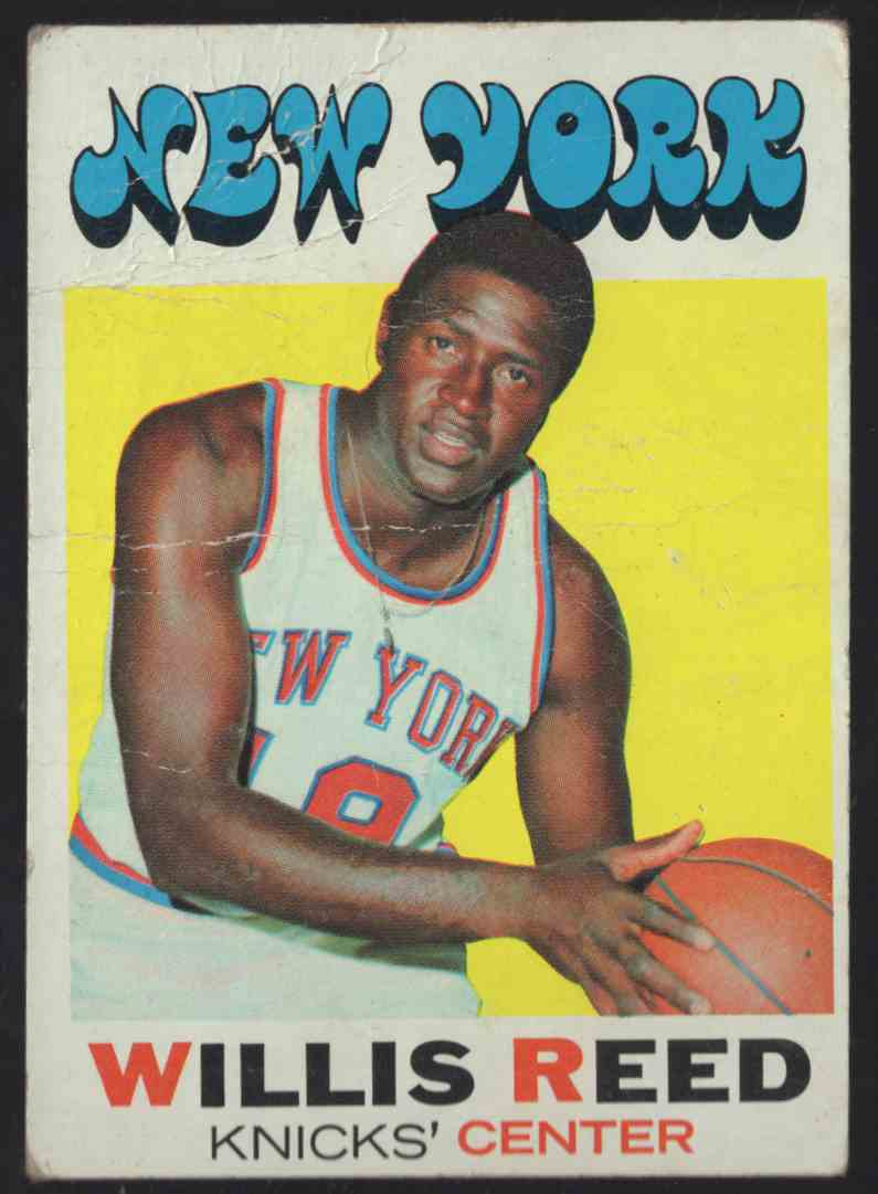 1971-72 Topps Willis Reed #30 card front image