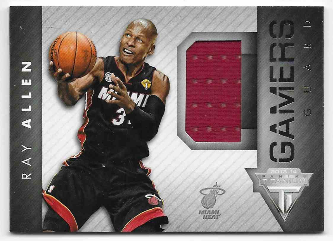 2013-14 Panini Titanium Gamers Ray Allen #13 card front image