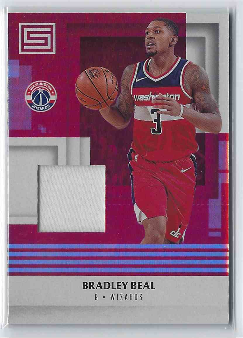 2017-18 Anini Status Materials Bradley Beal #M-BBL card front image