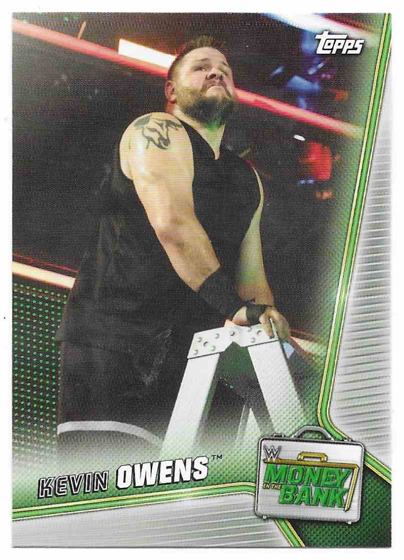 2019 Topps Wwe Money In Then Bank Kevin Owens #46 card front image