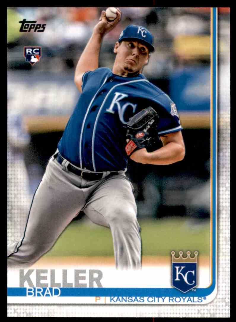 2019 Topps Brad Keller #270 card front image