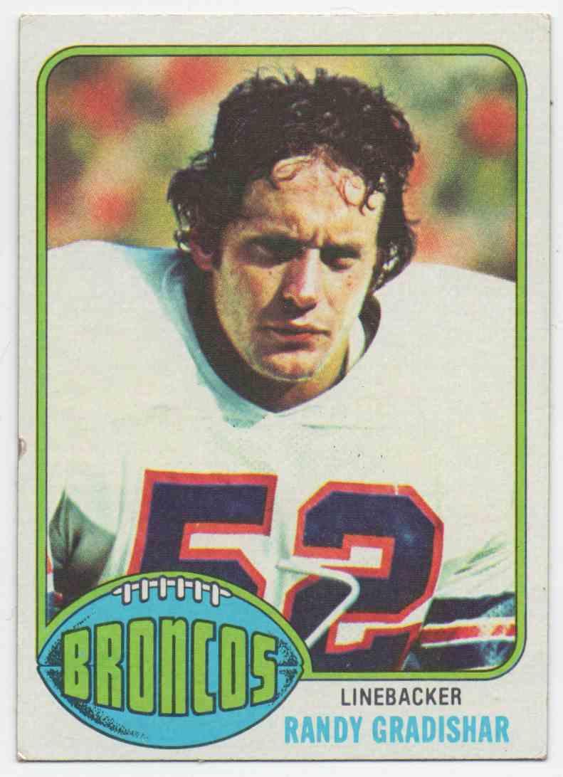 1976 Topps Randy Gradishar #257 card front image