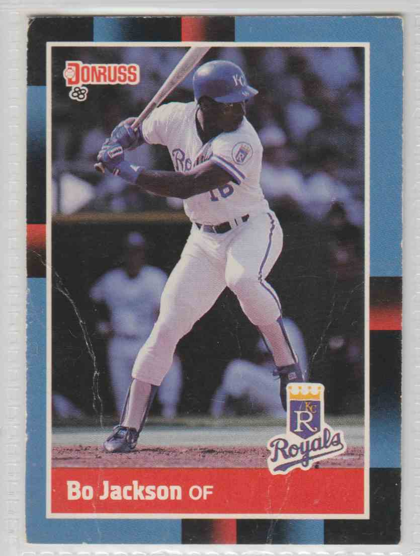1988 Donruss Bo Jackson #220 card front image