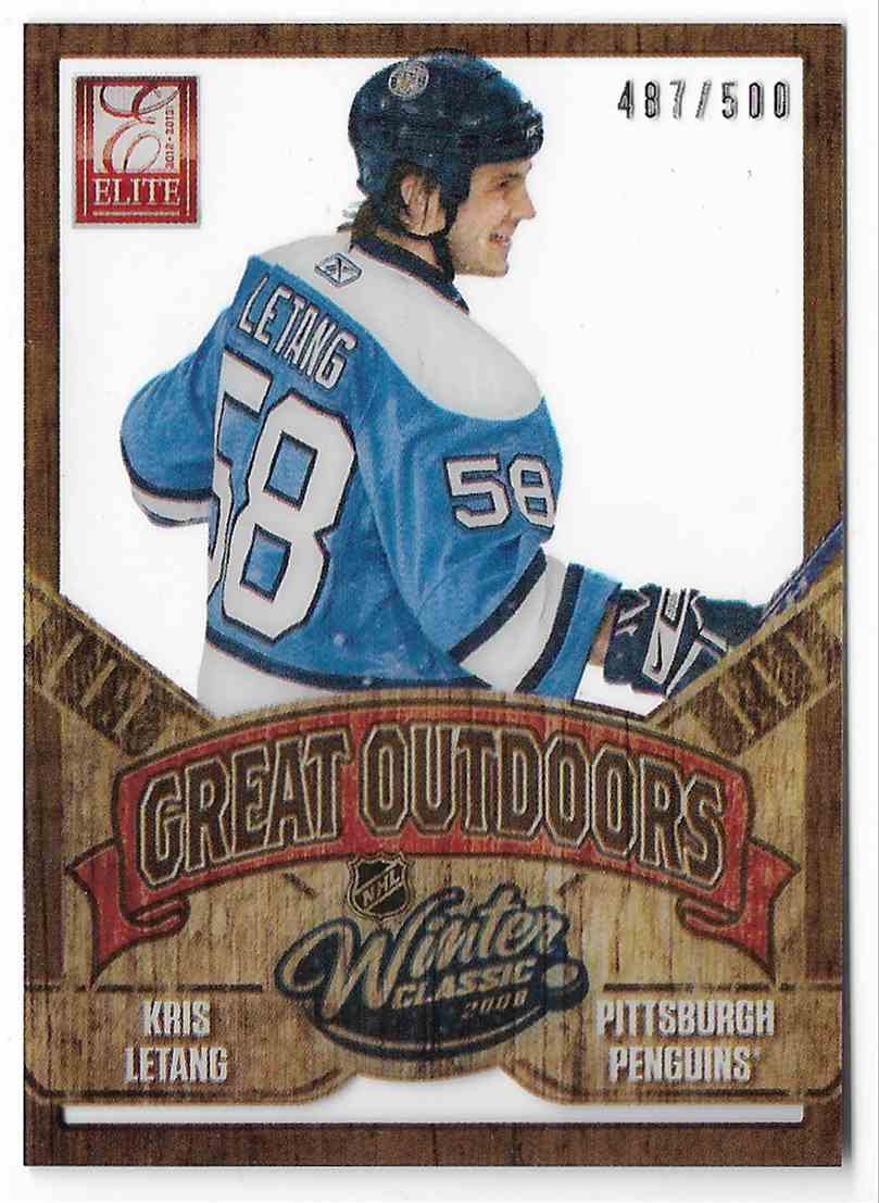 2012-13 Panini Rookie Anthology Kris Letang #GD-2 card front image