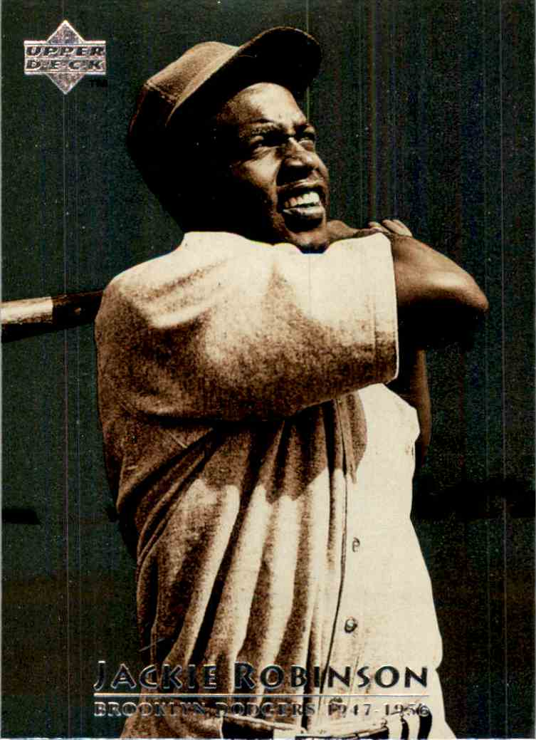 1997 Upper Deck Jackie Robinson #1 card front image