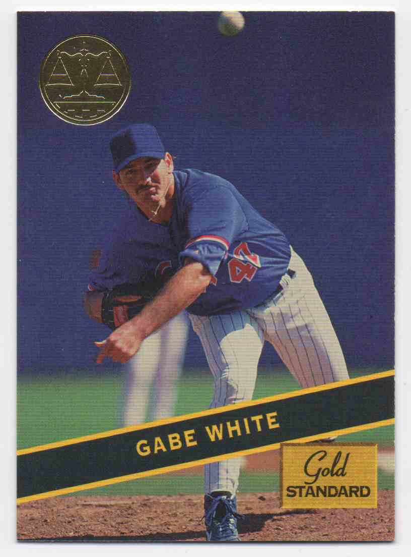 1994 Signature Rookies Gold Standard Gabe White #73 card front image
