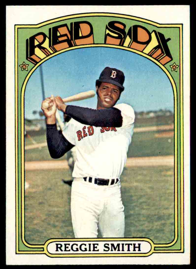 1972 Topps Reggie Smith #565 card front image