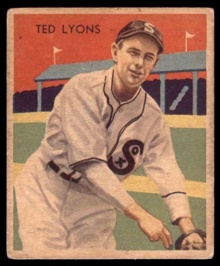 1935 Diamond Stars Vgex Ted Lyons Hof 43 On Kronozio