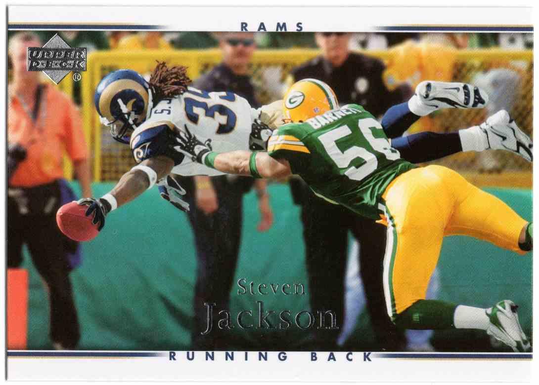 2007 Upper Deck Steven Jackson #176 card front image