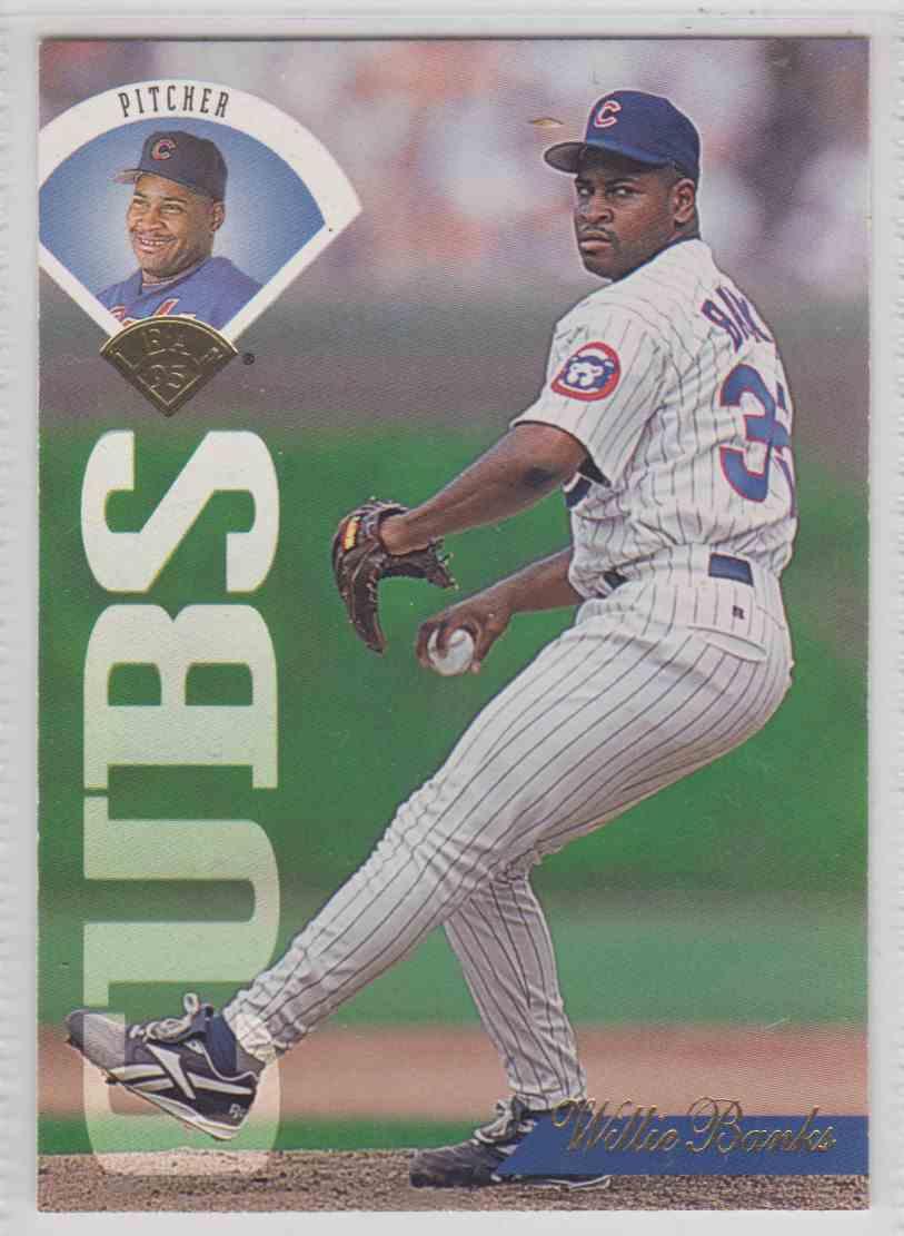 1995 Leaf Willie Banks 201 On Kronozio