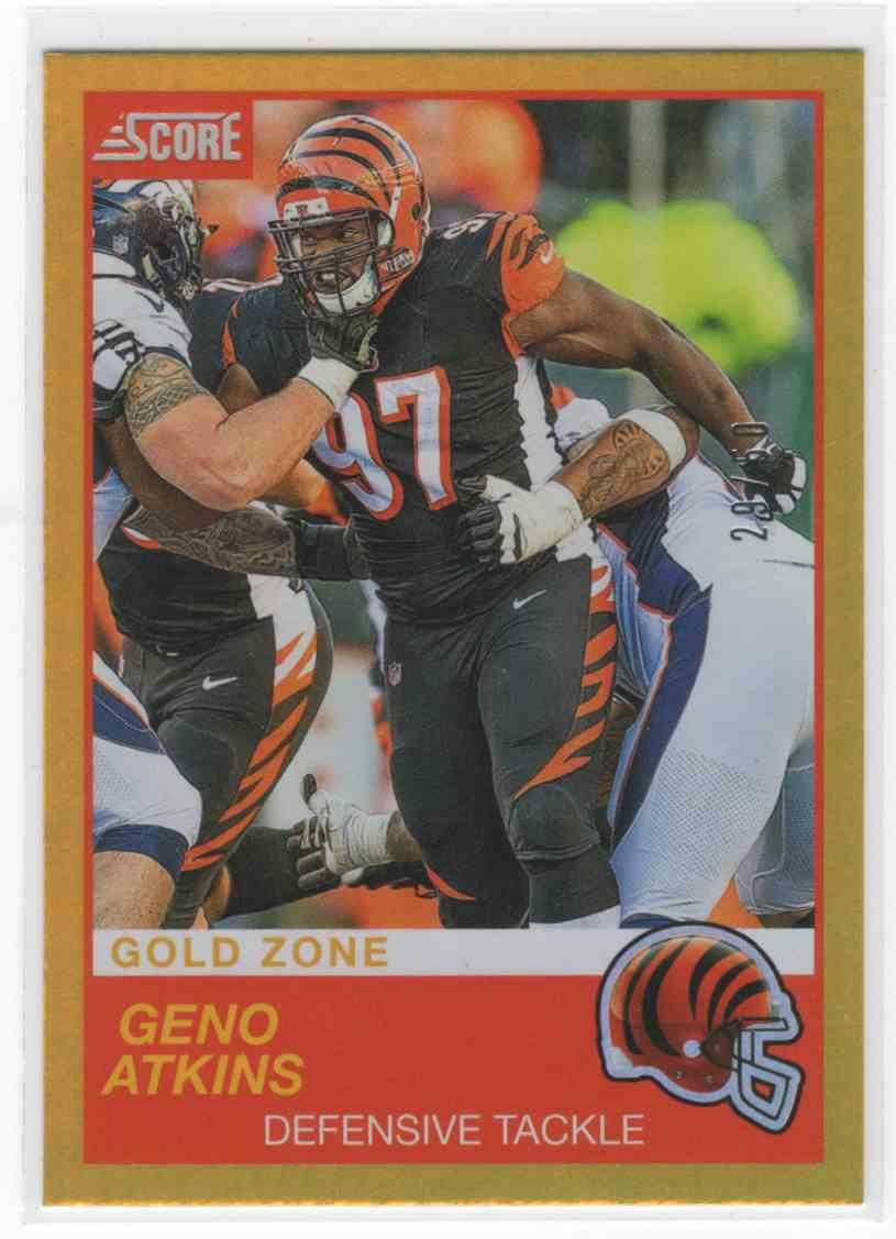 2019 Panini Score Geno Atkins #99 card front image