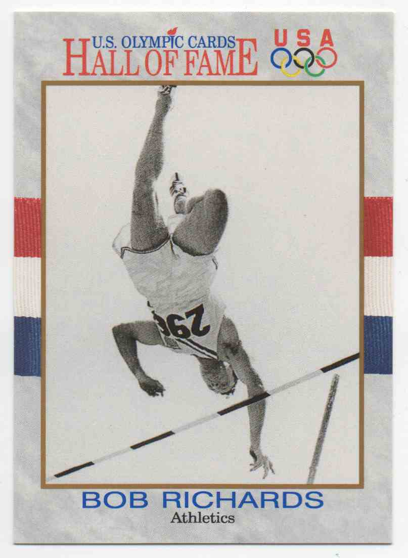 1991 Impel U.S. Olympic Hall Of Fame Bob Richards #14 card front image