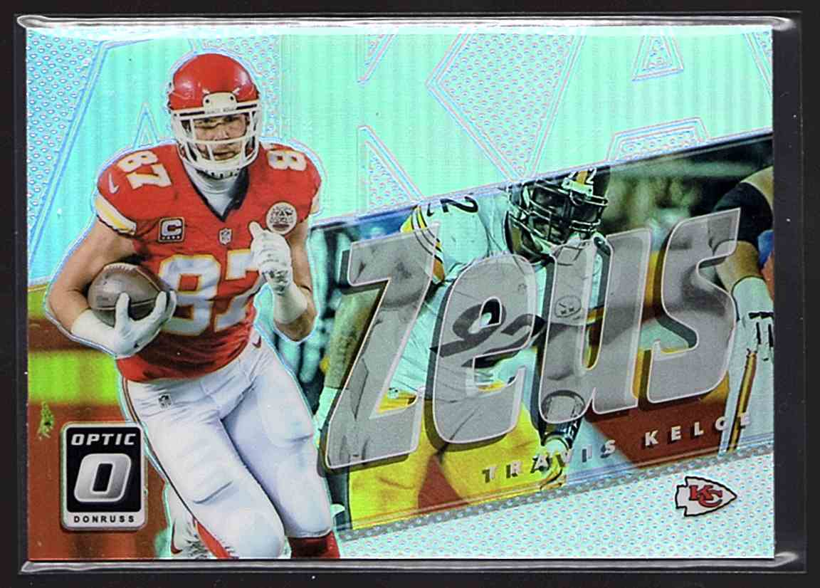 d3c3d5cb 30 Travis Kelce - Kansas City Chiefs trading cards for sale