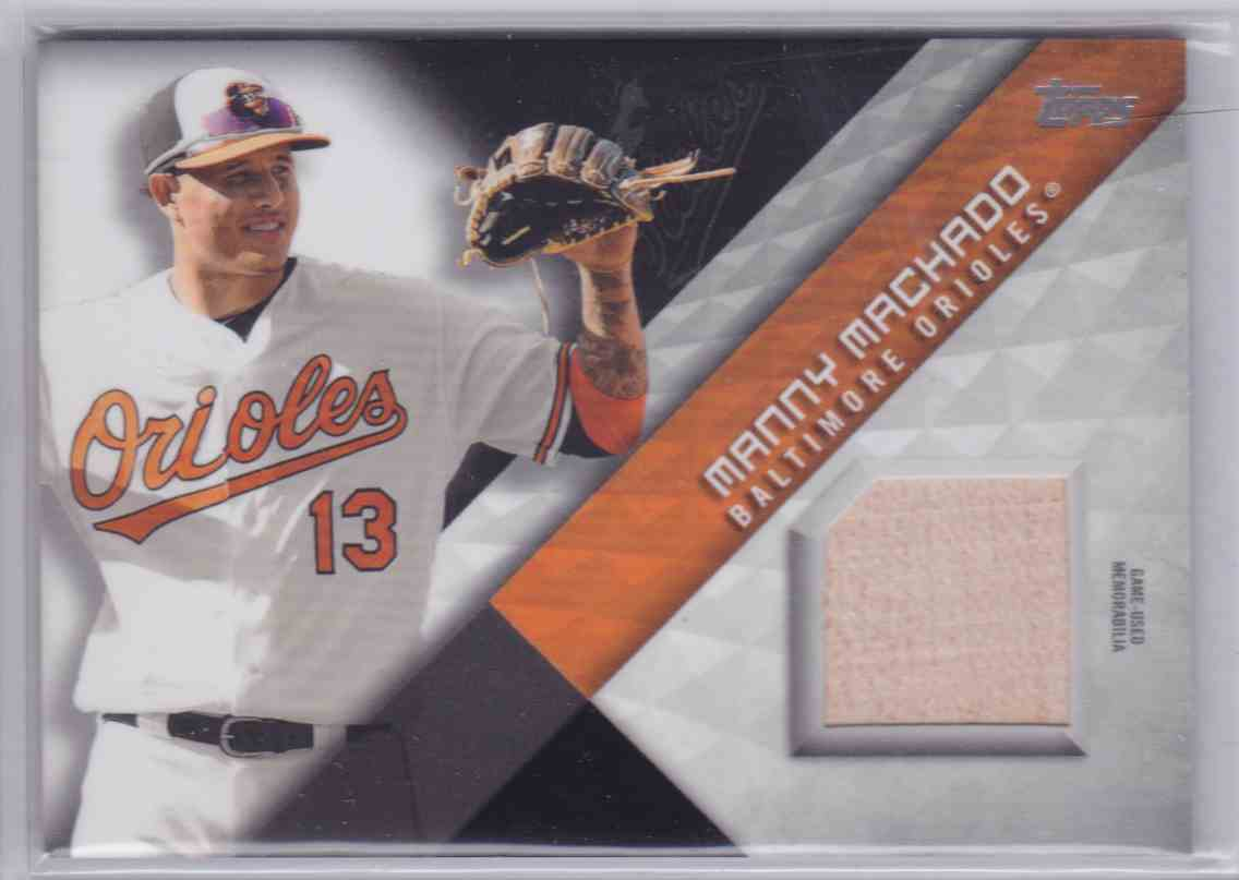 2018 Topps Series 2 Major League Material Manny Machado #MLM-MM card front image