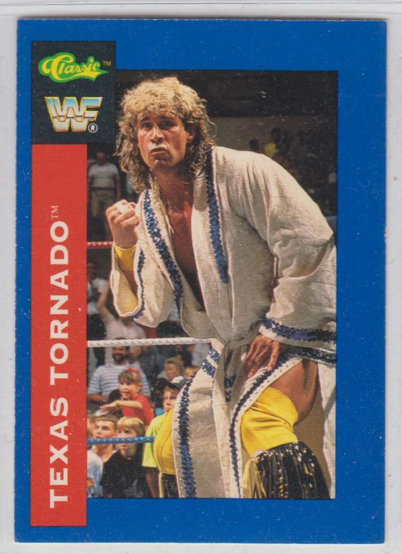 1991 Classic WWF Superstars Texas Tornado #71 card front image