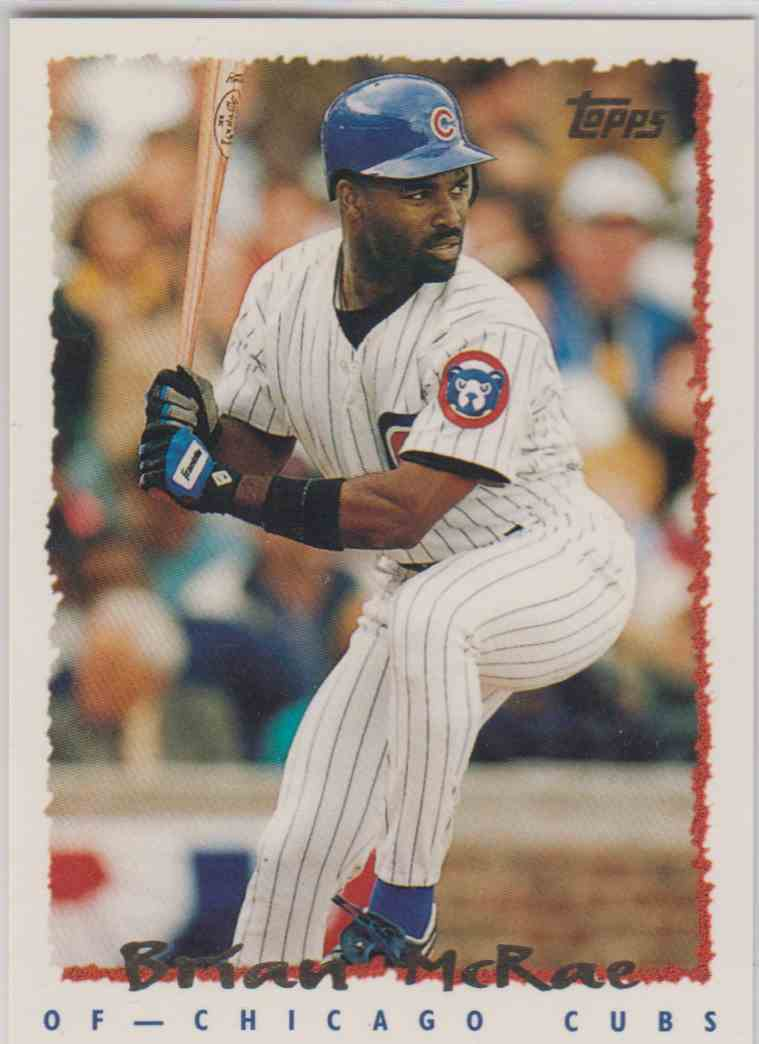 1995 Topps Traded Brian Mcrae 26 On Kronozio