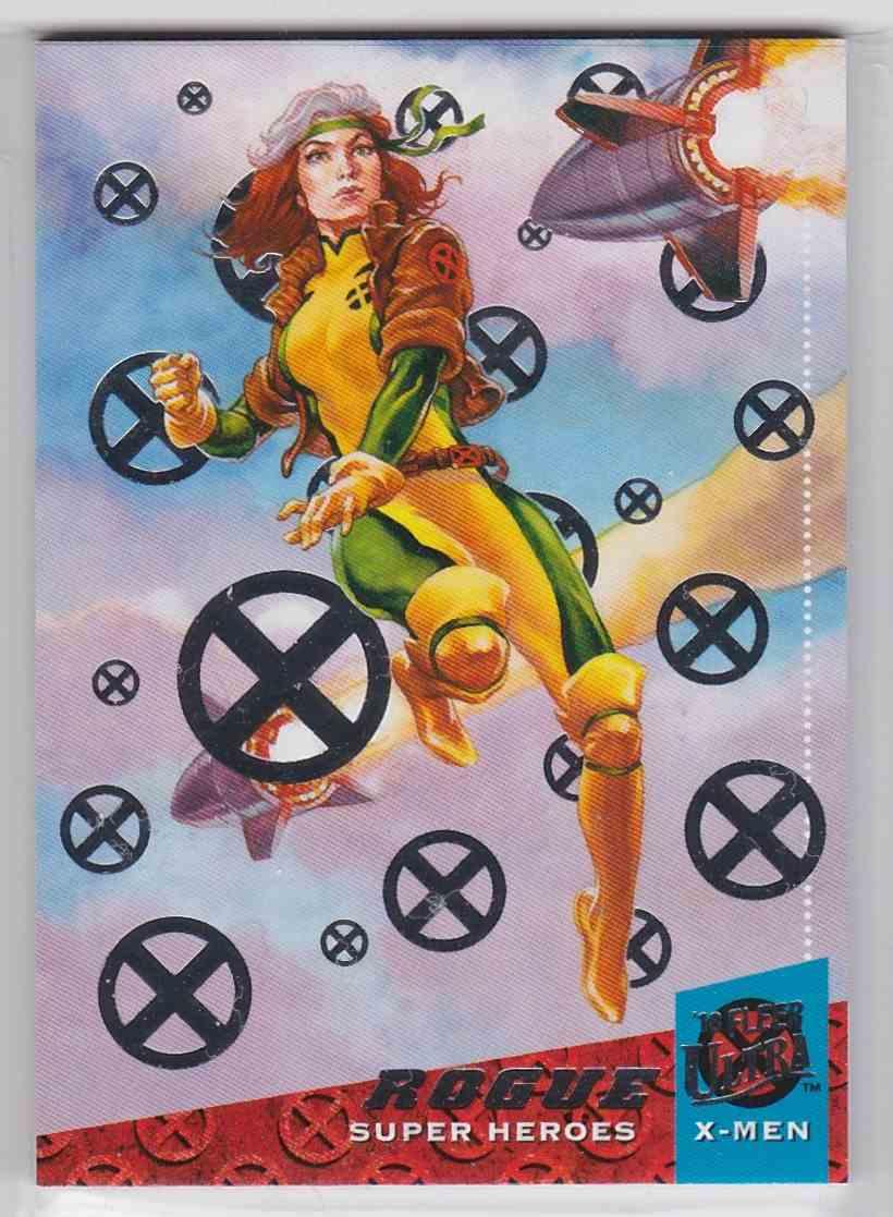 2018 Fleer Ultra X-Men Silver Foil Stamp Rogue #22 card front image
