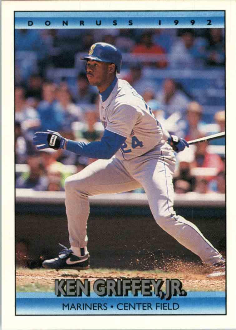 1675d2a53a 1991 Donruss Ken Griffey JR. #165 card front image
