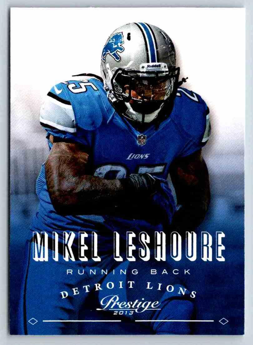 2013 Prestige Mikel Leshoure #67 card front image