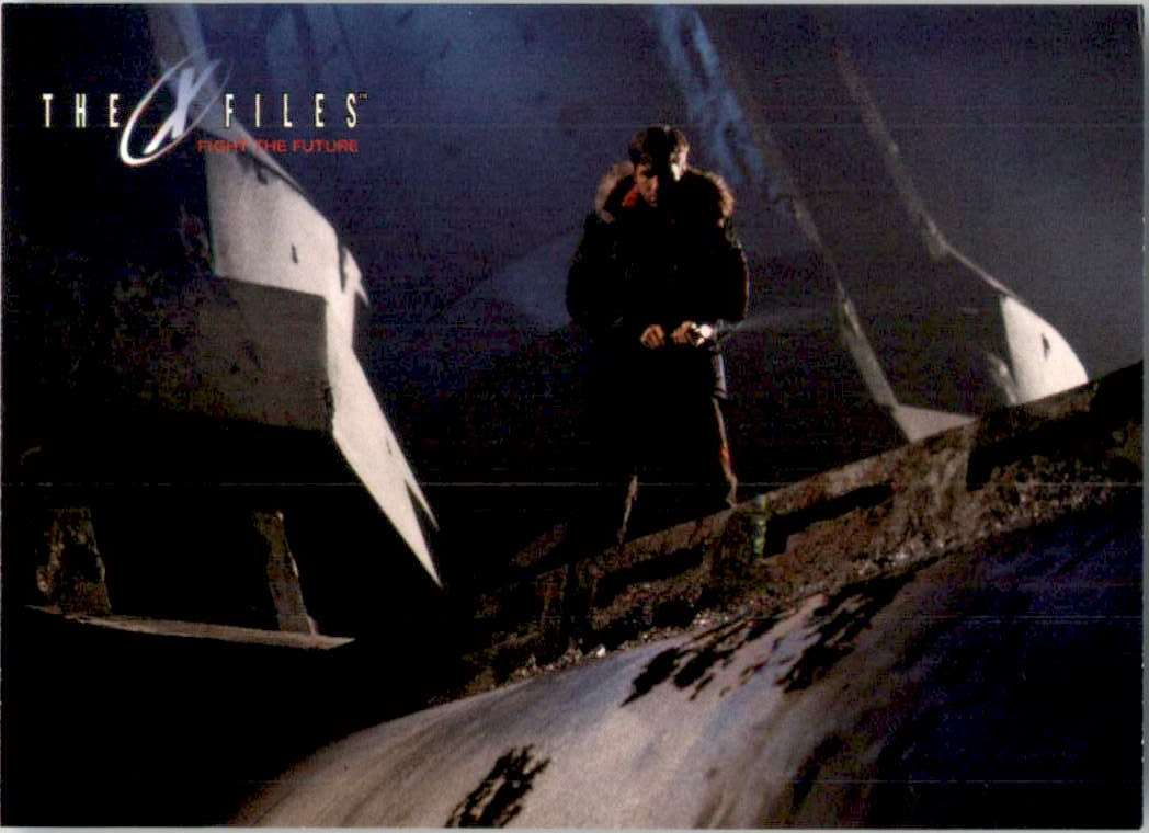 1998 X-Files Fight The Future Discovery Is Made #50 card front image