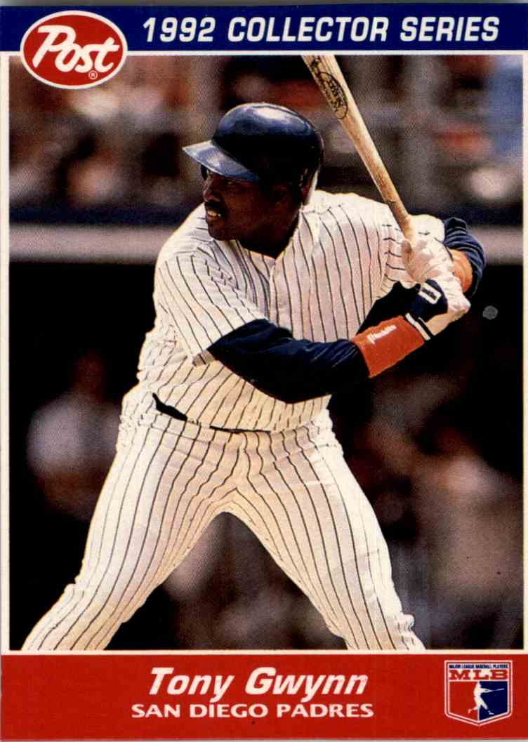 Details About 1992 Post Collectors Series Tony Gwynn San Diego Padres 26