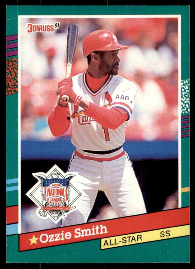 1991 Donruss Baseball Ozzie Smith 437 On Kronozio